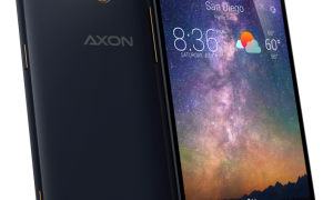 ZTE, Axon is set to launch dual lens camera with 4GB Ram next month.