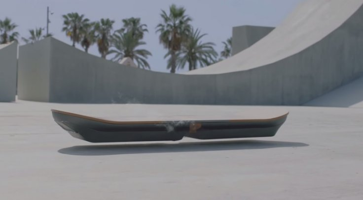 Lexus disclose about working 'slide' Hoverboard