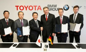 BMW starts tests of fuel cell car created with Toyota