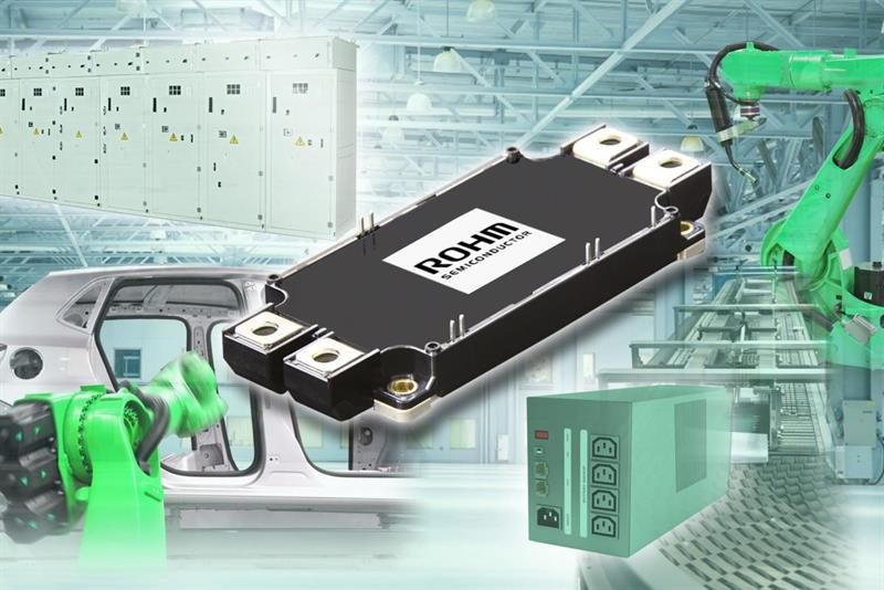 Full SiC power module for high power applications_popup