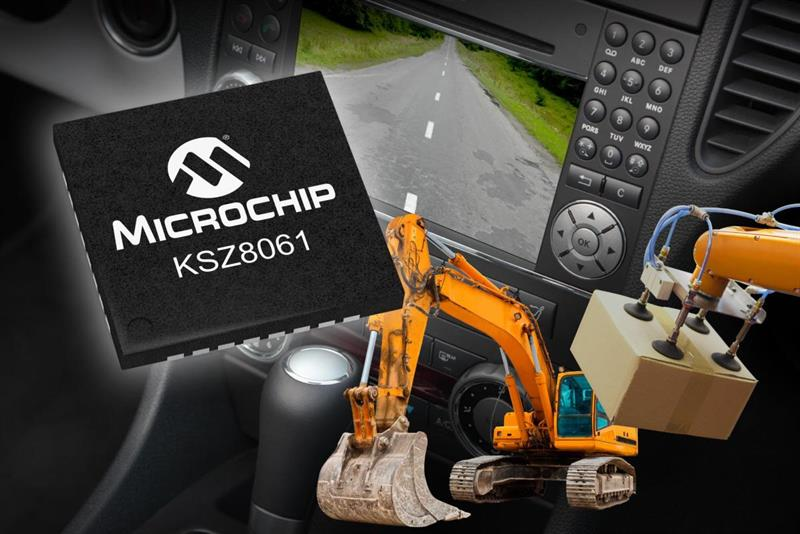 Microchip Ethernet PHY transceiver for harsh EMC requirements_popup