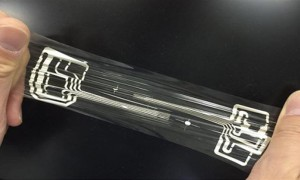 Resin film and materials developed for stretchable electronics_popup