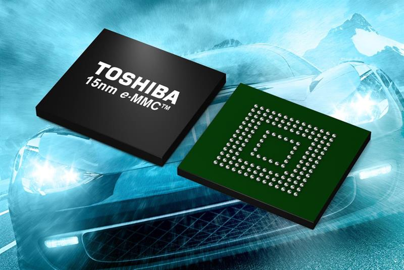 15nm eMMC NAND flash memory for automotive applications_popup