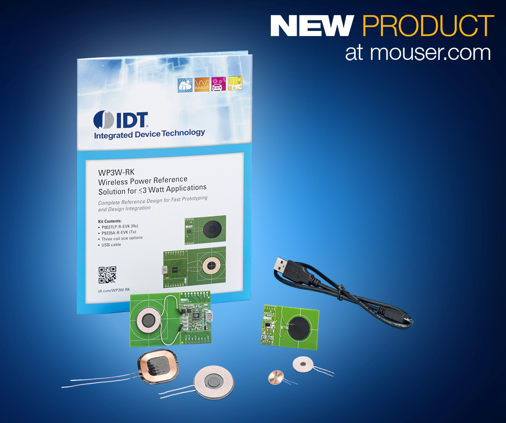 Print_IDT WP3W-RK Wireless Power Kit