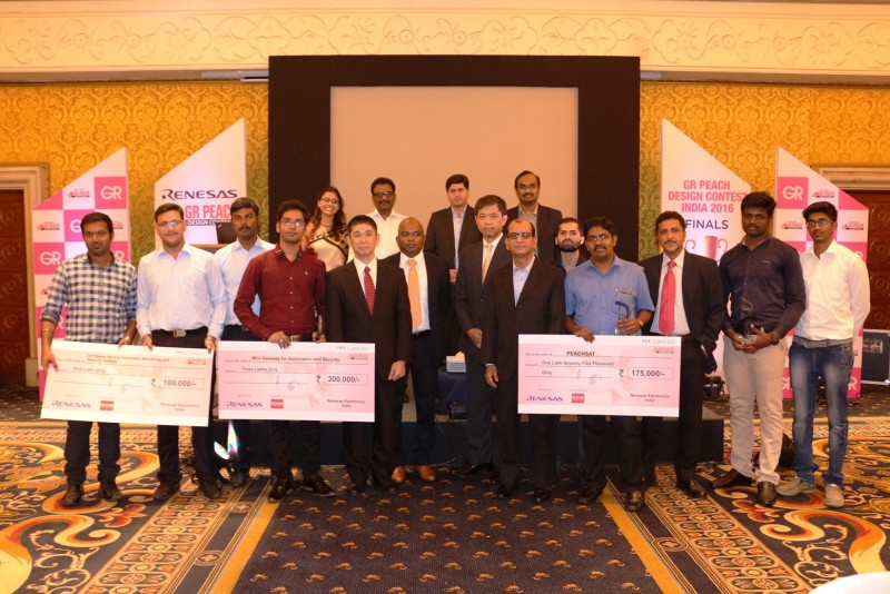 Winners with Partners, Co-sponsors and Renesas Team
