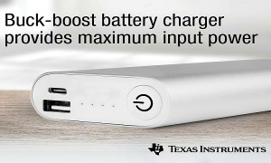 Buck-boost battery charger