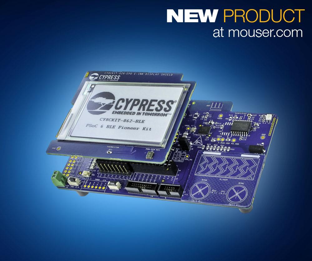 PRINT_Cypress PSoC 6 Pioneer Kit