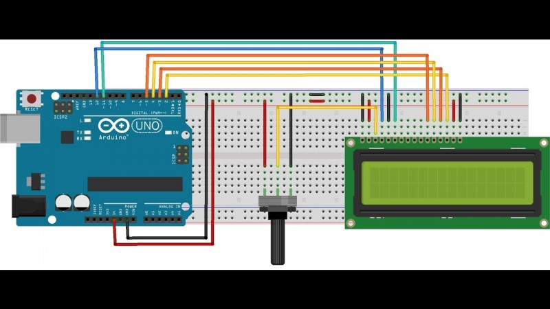 Connecting lcd with arduino