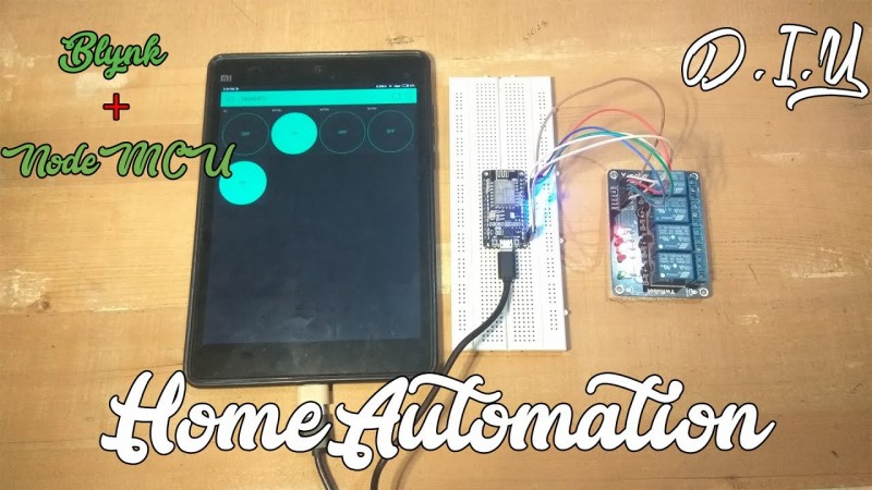 Easy Diy Home Automation Over Internet