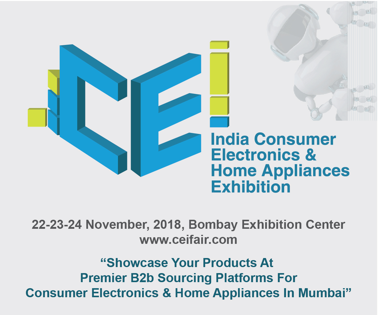 India Consumer Electronics & Home Appliances Exhibition – Boosting ...