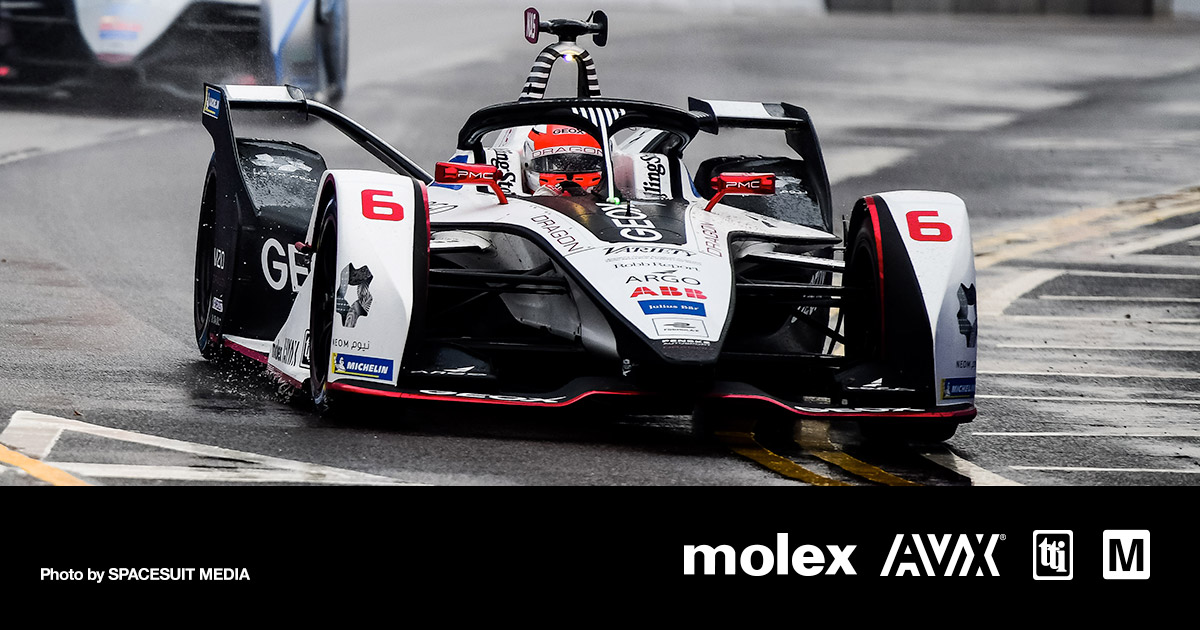 Mouser-Sponsored Formula E Team Returns to Mainland China -