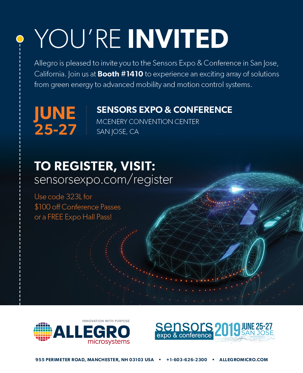 Allegro MicroSystems Presents Industry Leading Solutions at